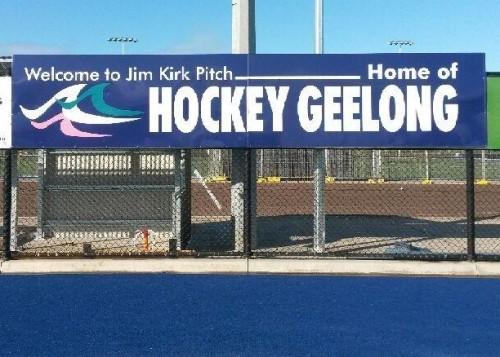 Hockey Geelong Sign
